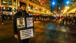 Masivas protestas por difusión de video policial