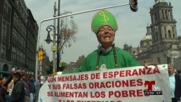 Así esperan al Papa Francisco en México