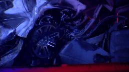 Conductor en sentido contrario causa accidente mortal