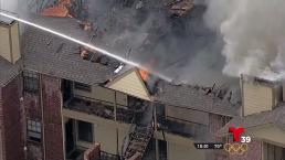 Residentes lo perdieron todo en voraz incendio