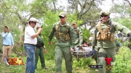 La patrulla fronteriza se prepara para ayudar a victimas