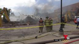 Inmenso incendio destruye varios negocios