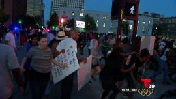 Preparan otra manifestación en el centro de Dallas
