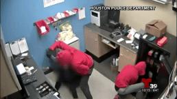 Golpean brutalmente a empleada para robar tienda