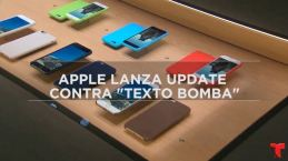 """Apple urge actualizar contra """"texto bomba"""" que daña tu iPhone"""