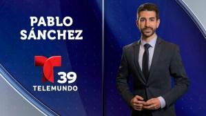 Meteorólogo Pablo Sánchez