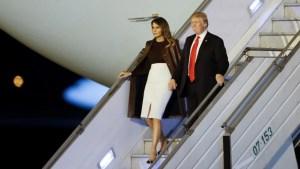 Trump llega a Argentina para asistir a cumbre del G20