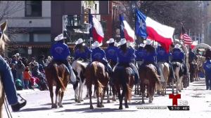 Desfile del Fort Worth Stock Show and Rodeo 2018