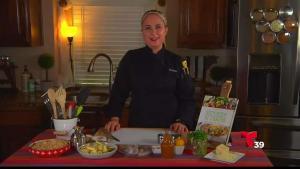 Ingredientes para preparar unos ricos camarones con calabaza y queso parmesano