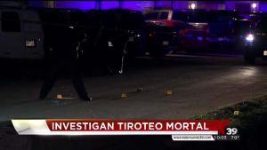 Investigan balacera en Irving