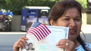 Obtuvo la ciudadanía sin saber leer ni escribir
