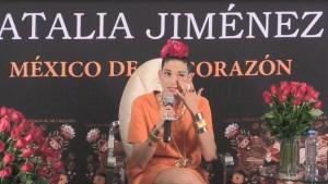 Natalia Jiménez llora al recordar a Juan Gabriel