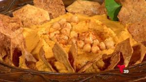 Ponle sabor a esta temporada con un rico hummus de otoño de Chef Zoe