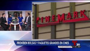 Tema del día: Prohiben bolsas grandes en Cinemark