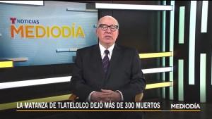 Tlatelolco: testigo revive la matanza 50 años después