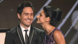Mauricio Ochmann y Aislinn Derbez son marido y mujer
