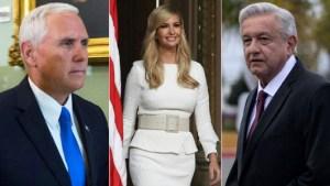 Ivanka Trump y Pence asistirán a juramentación de AMLO
