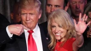 Trump no despedirá a asesora acusada de violar ley federal