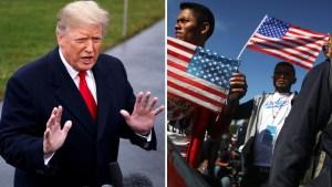Trump apoya uso de gas lacrimógeno contra migrantes