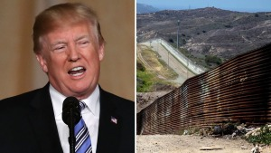 Trump insiste que el muro frenará la entrada de drogas