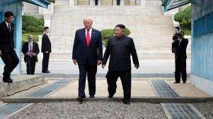 Trump, el primer líder de EEUU en cruzar a Norcorea