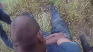 Captan en vídeo rescate de migrantes en Sullivan City