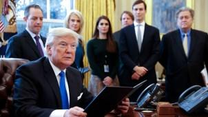 Trump prepararía acciones migratorias y plan para dreamers