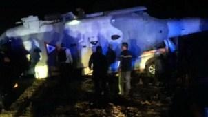 México: 13 muertos por caída de helicóptero con funcionarios