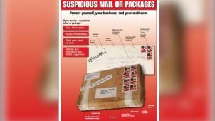 Piden no bajar la guardia ante paquetes sospechosos