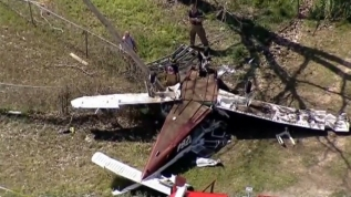 Aparatoso accidente de avioneta en U.S. 67