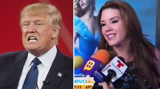 "Alicia Machado: Donald Trump ""es un imbécil"""