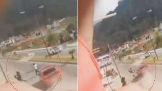 "En video: ""arrancón"" mortal en México"