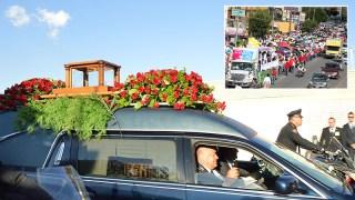Cenizas de Juanga recorrieron Juárez por última vez