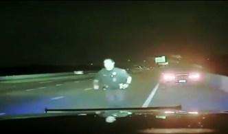 Oficial en Carrollton se salva de ser brutalmente atropellado