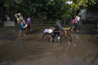 Al menos 12 muertos deja un temporal en Centroamérica