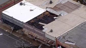 Daños tras vigilancia por tornado para el norte de Texas