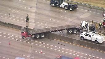 Un muerto tras choque de un camión en Dallas