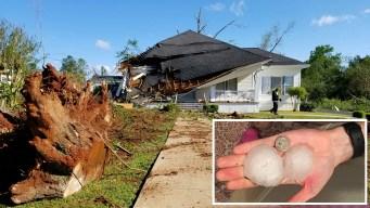 Al menos 8 muertos tras paso de tormentas en EEUU