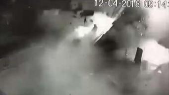 Puerto Rico: captan en video brutal explosión de negocio