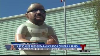 Presentarán cargos federales contra comisario Arpaio