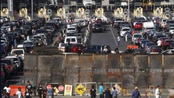 Cierran por varias horas cruce fronterizo de San Ysidro