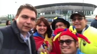 Ecuatorianos en San Petersburgo