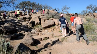 Enchanted Rock en Texas