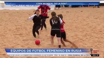 Fútbol femenino de playa en Rusia