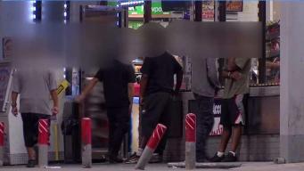 Gasolinera en Dallas con serios problemas de inseguridad