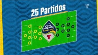 Los datos de la Copa América 2019 antes de la final