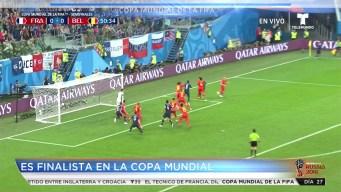 Hoy en Rusia: Francia es finalista de la Copa Mundial de la FIFA