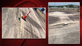 Reportan inusual problema sobre I-35 en Burleson