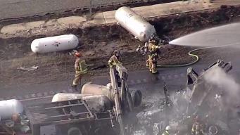 Identifican a víctimas de mortal accidente sobre I-35