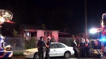 Incendio en Fort Worth deja anciana hospitalizada